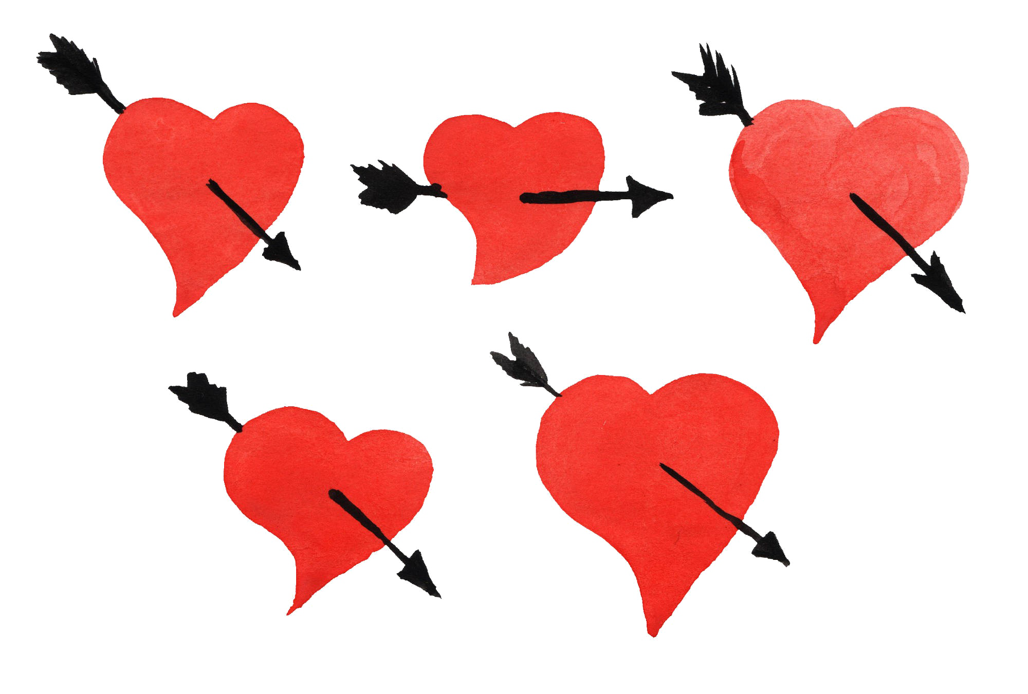Brush stroke heart clipart jpg royalty free Heart Arrow Transparent Background PNG - peoplepng.com jpg royalty free