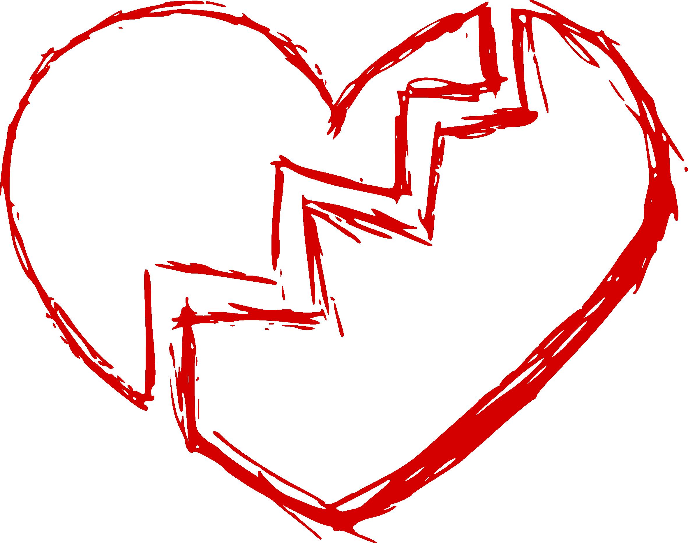 Free broken heart clipart graphic download Broken Heart (PNG Transparent) | OnlyGFX.com graphic download
