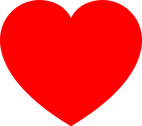 Brush stroke heart clipart graphic library download Clip Art Red Heart | Clipart Panda - Free Clipart Images graphic library download