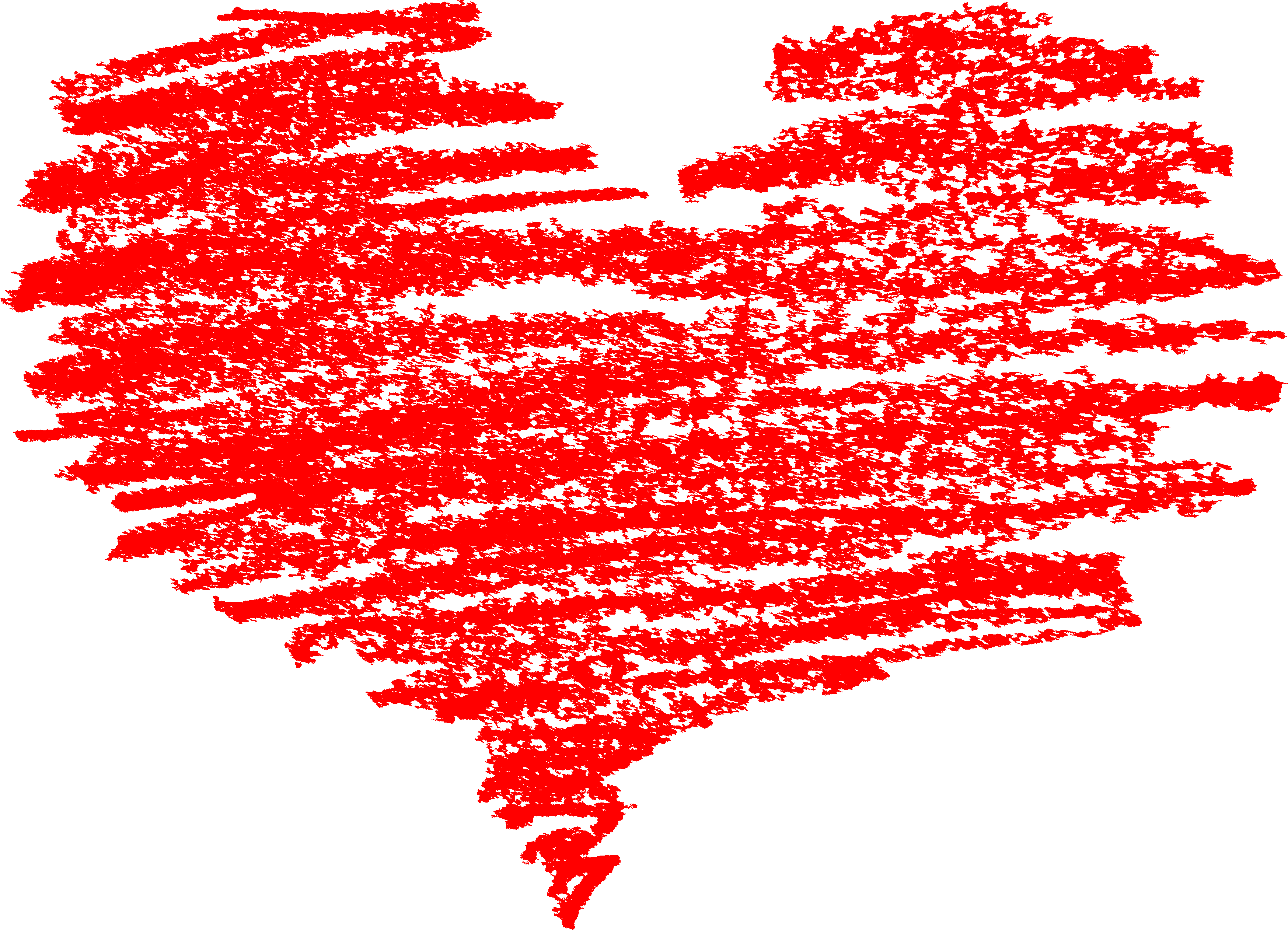 Brush stroke heart clipart image black and white library 5 Scribble Heart (PNG Transparent) | OnlyGFX.com image black and white library