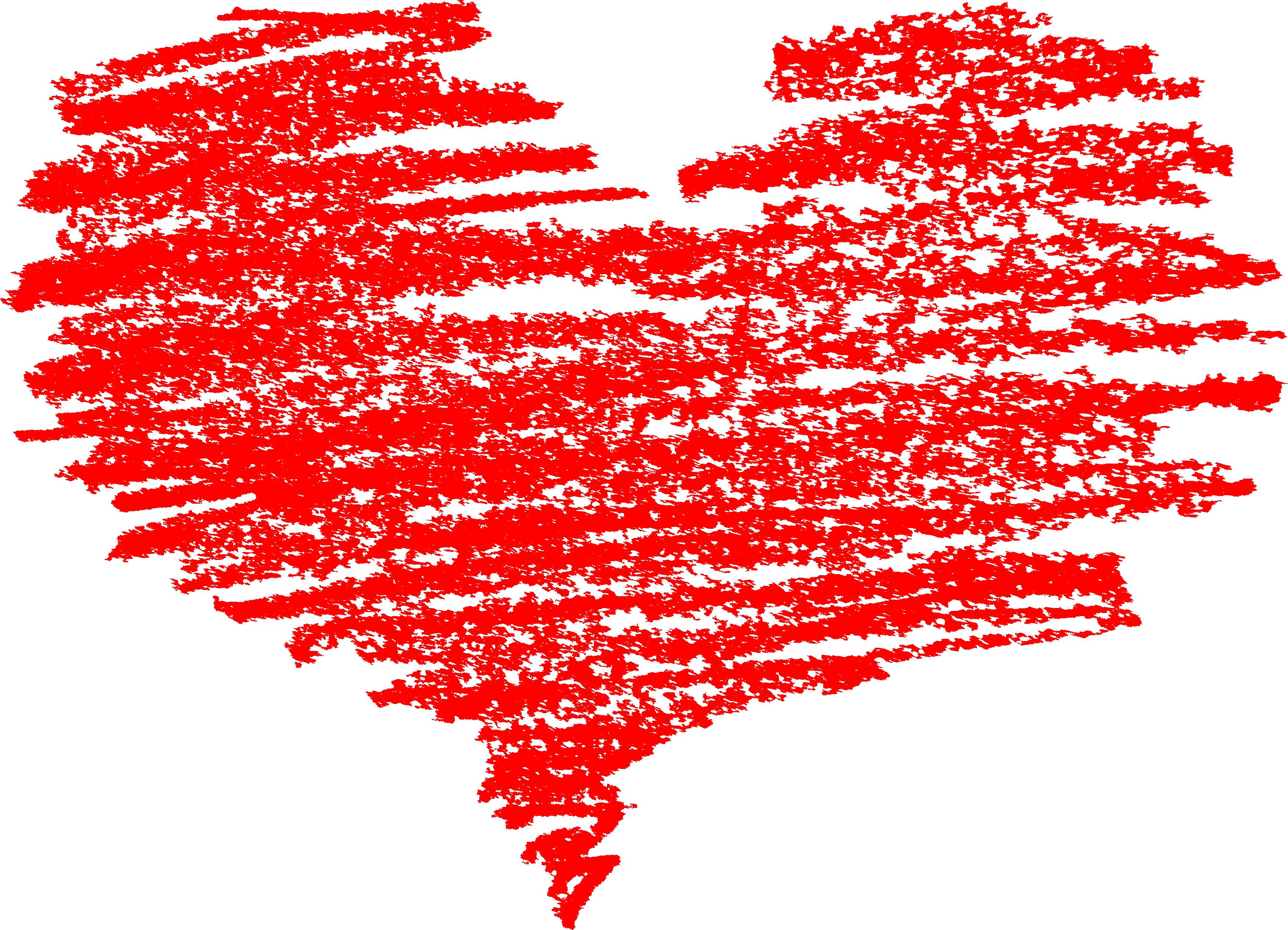 Crayon heart clipart svg transparent 5 Scribble Heart (PNG Transparent) | OnlyGFX.com svg transparent