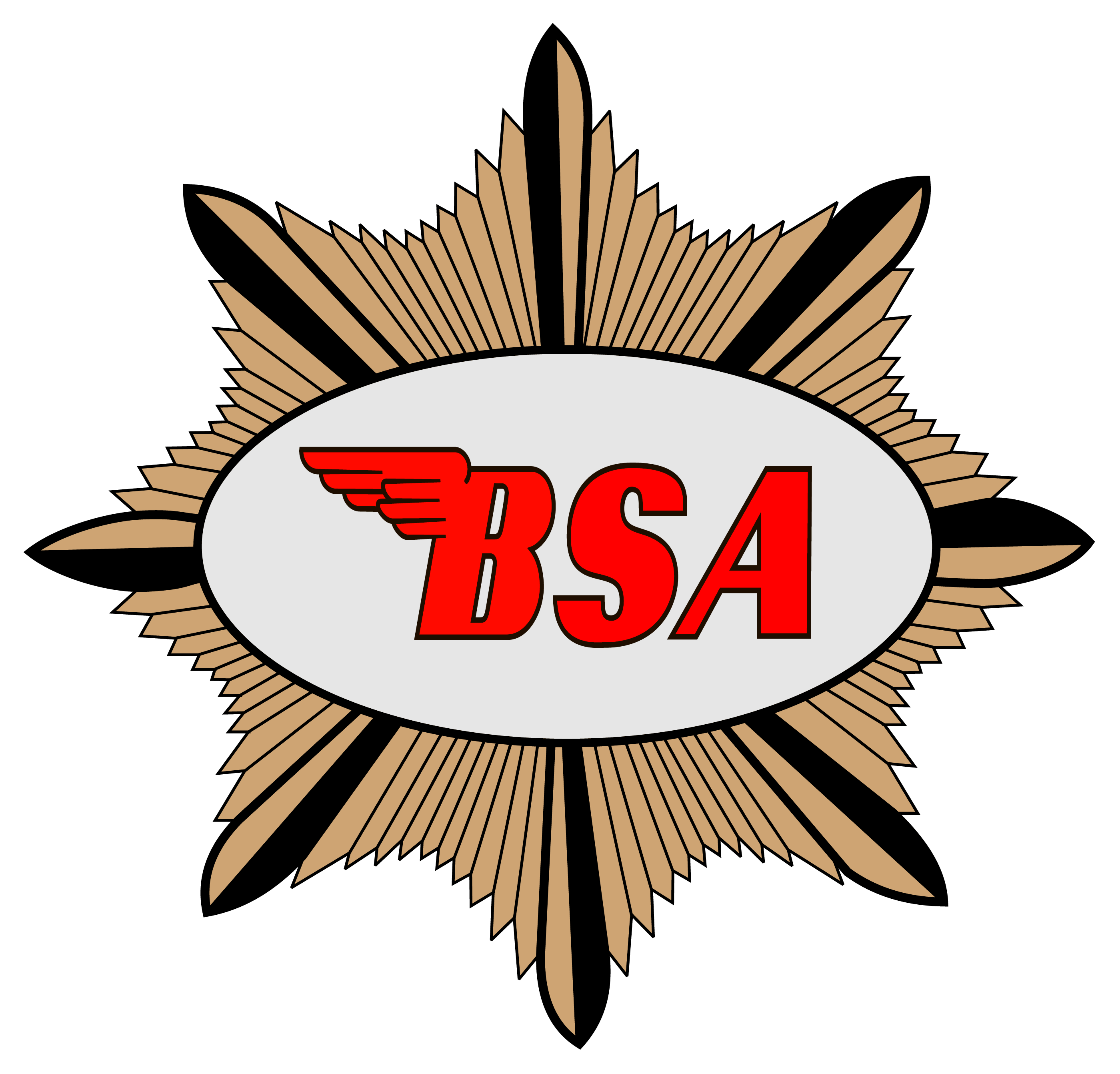 Bsa motorcycle logo clipart graphic library library BSA motorcycle logo history and Meaning, bike emblem graphic library library