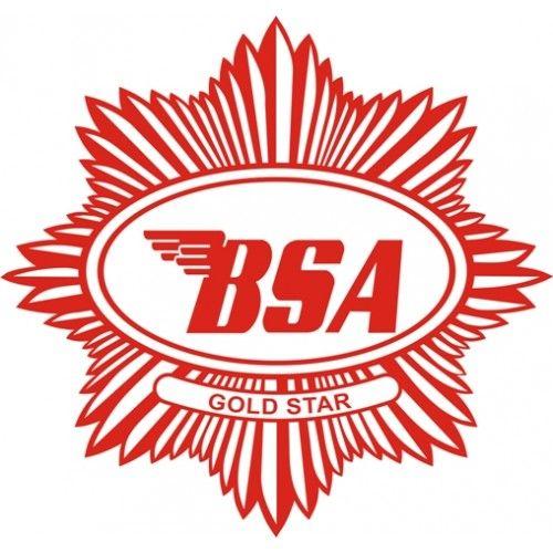 Bsa motorcycle logo clipart clipart freeuse stock BSA Goldstar Tank Motorcycle Logo Vinyl Graphics ,Decal /Sticker ... clipart freeuse stock