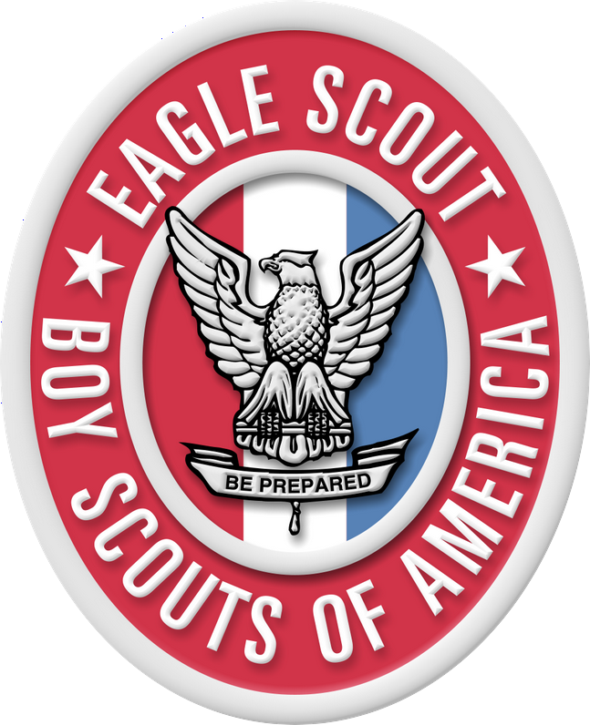 Bsa star scout pin clipart library image transparent download Large Eagle Scout Badge and Medal Image for Presentations image transparent download