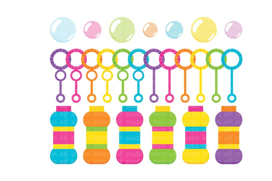 Bubble blowing clipart clipart freeuse stock Bubble Blowing Clipart (LES.Cl43B) clipart freeuse stock