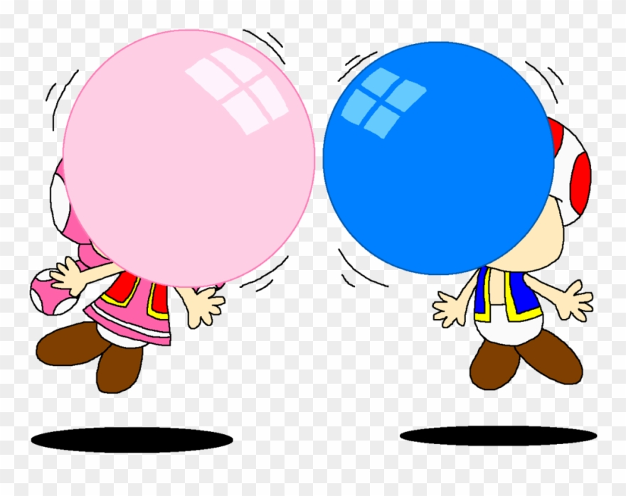 Bubble blowing clipart svg transparent Clip Black And White Library Blowing Bubble Gum Clipart - Chewing ... svg transparent