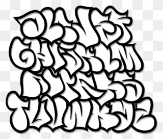 Bubble christmas alphabet clipart black and white png black and white Image Library Stock Bubble Letter Clipart - Graffiti Alphabet - Png ... png black and white