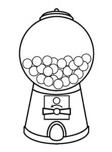 Bubble gum clipart black and white picture royalty free Free Gumball Machine Cliparts, Download Free Clip Art, Free Clip Art ... picture royalty free