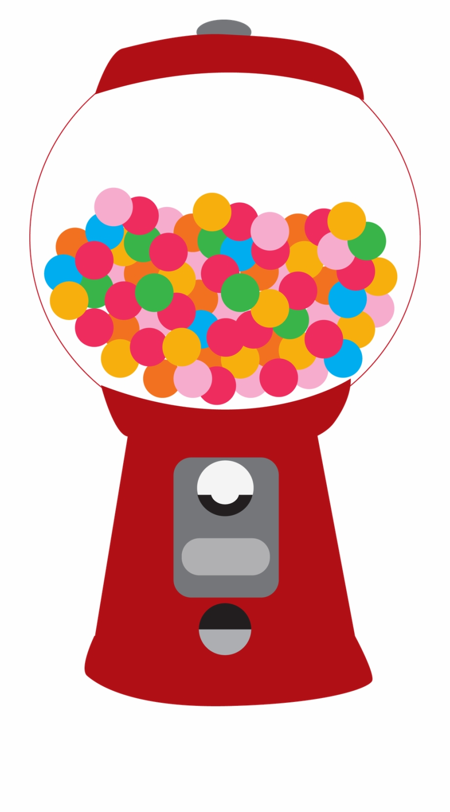 Bubble gum machine clipart clip art royalty free library Gumball Machine Clipart Printable - Bubble Gum Machine Clipart ... clip art royalty free library