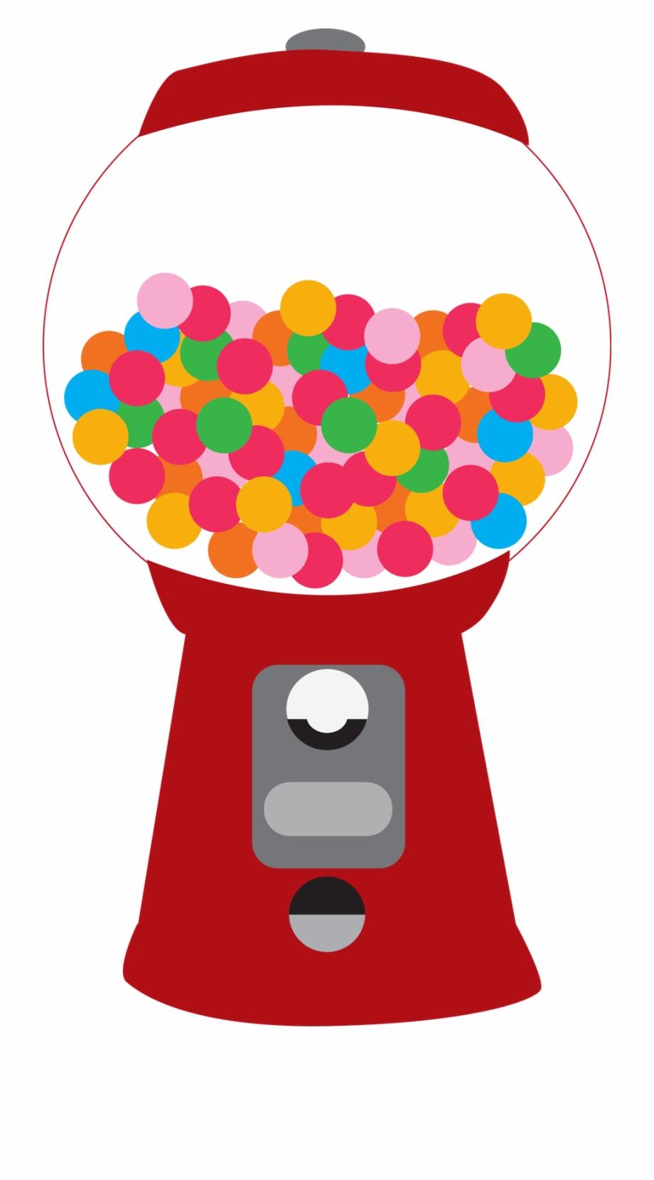 Clipart bubble gum machine jpg transparent download Gumball Machine Clipart Printable - Bubble Gum Machine Clipart ... jpg transparent download