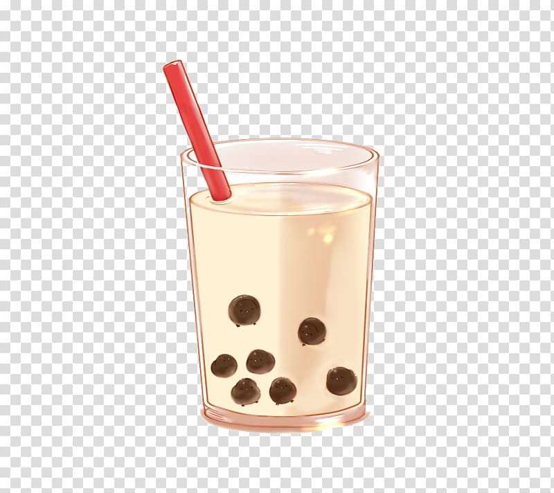 Thai iced tea clipart vector royalty free Drinking glass with red straw , Bubble tea Milk Masala chai Thai tea ... vector royalty free