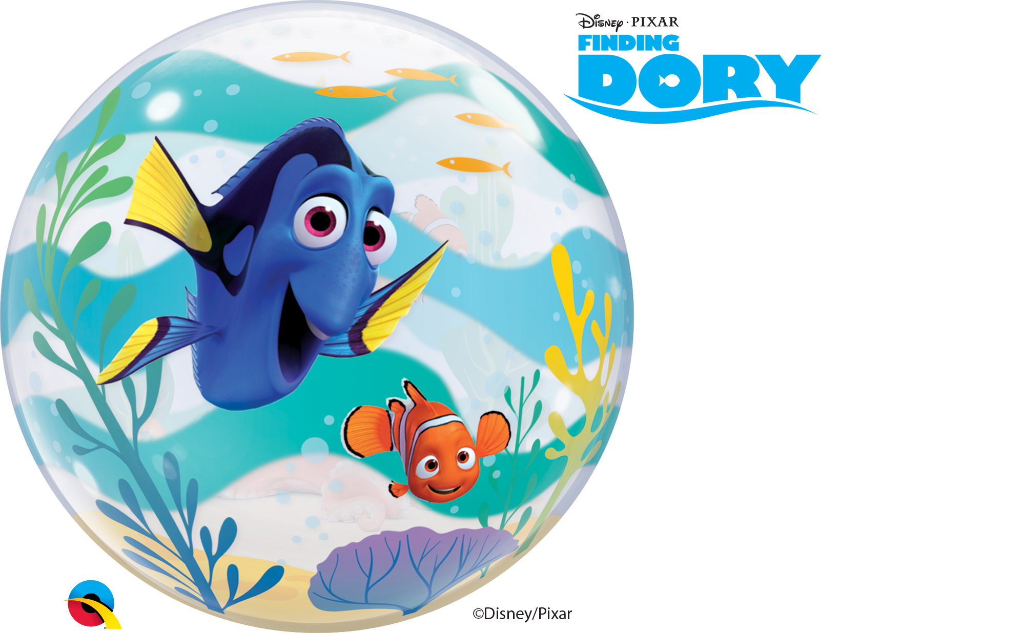Bubbles and fish clipart svg transparent stock Finding Dory Bubble Balloon svg transparent stock