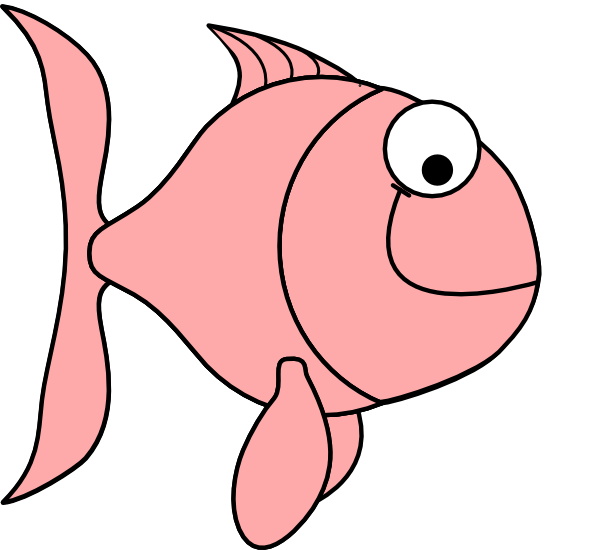 Fish with bubbles clipart black and white transparent Pink Fish Bubbles Clip Art at Clker.com - vector clip art online ... transparent
