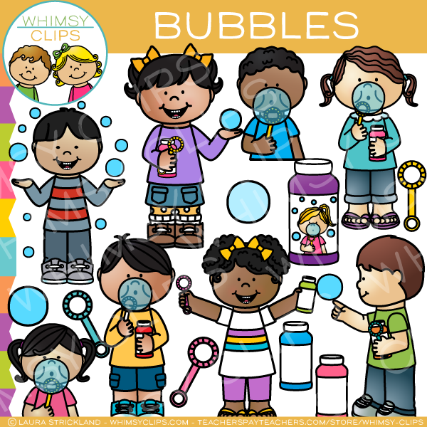 Bubbles and kids clipart clip art transparent download Kids Bubble Clip Art clip art transparent download