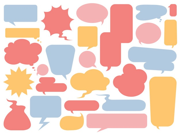 Bubbles vector clipart banner transparent Speech Bubble Vectors, Photos and PSD files | Free Download banner transparent
