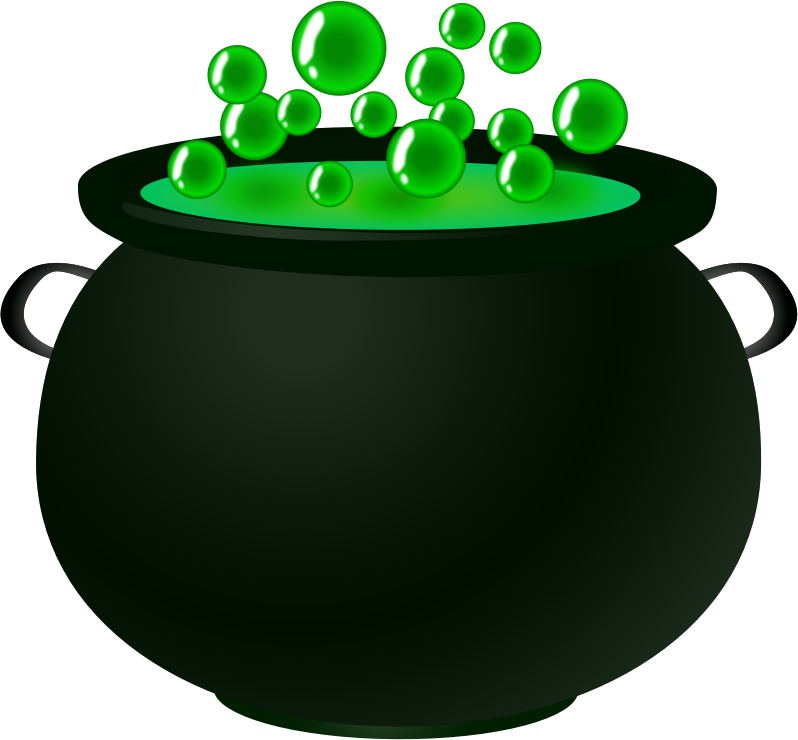 Bubbling cauldron free clipart black and white png library download Witch Cauldron Clipart | Free download best Witch Cauldron Clipart ... png library download