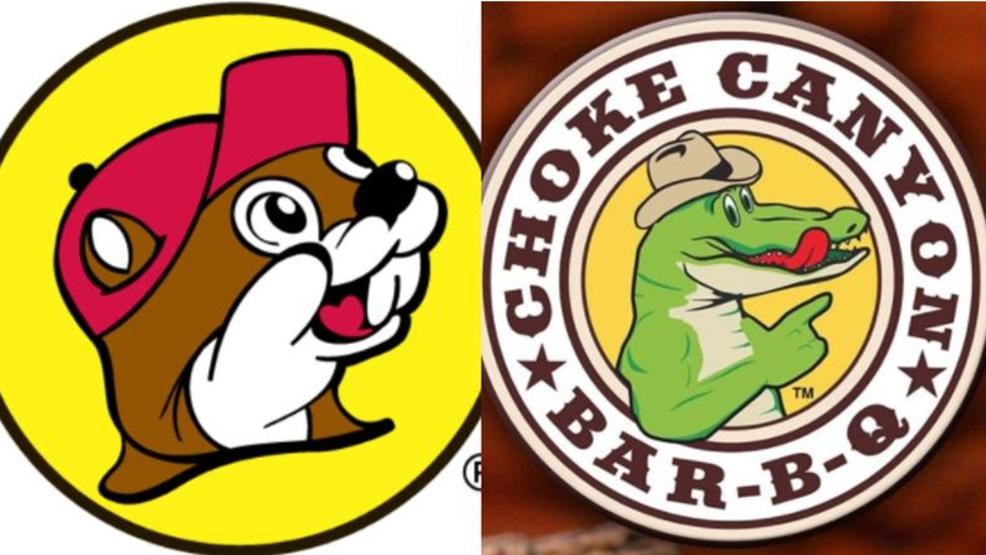 Bucees clipart banner black and white Buc-ee\'s wins logo case against Choke Canyon BBQ | WOAI banner black and white