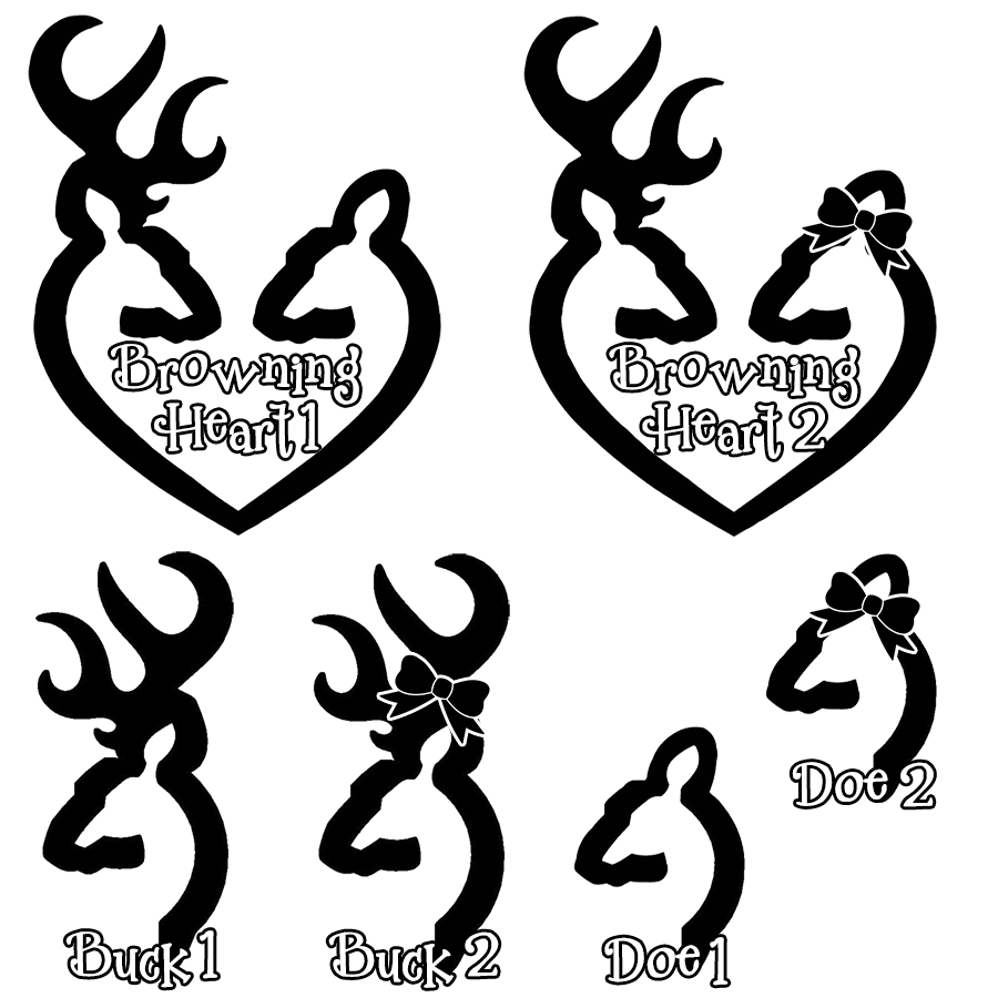 Buck and doe heart clipart picture black and white download deer antler silhouette - Google Search | cameo | Pinterest | Deer ... picture black and white download