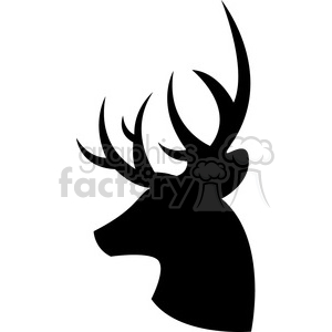 Deer clipart silhouette vector library deer clipart - Royalty-Free Images | Graphics Factory vector library