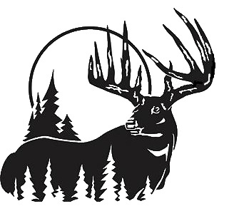 Moose fighting clipart svg royalty free download Big Buck Fighting Clipart #1 | Clipart Panda - Free Clipart Images svg royalty free download