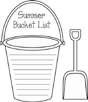 Bucket list clip art banner library stock Summer bucket list clipart - ClipartFest banner library stock