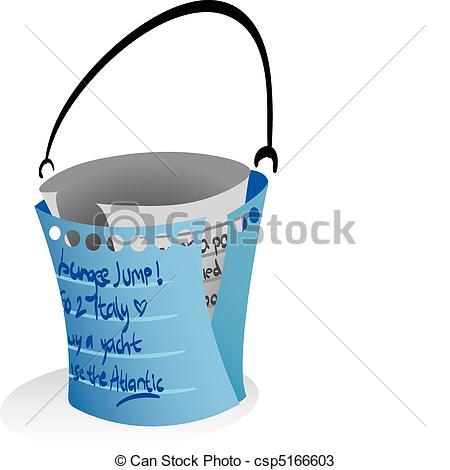 Bucket list clip art jpg black and white stock Bucket List Clipart - Clipart Kid jpg black and white stock