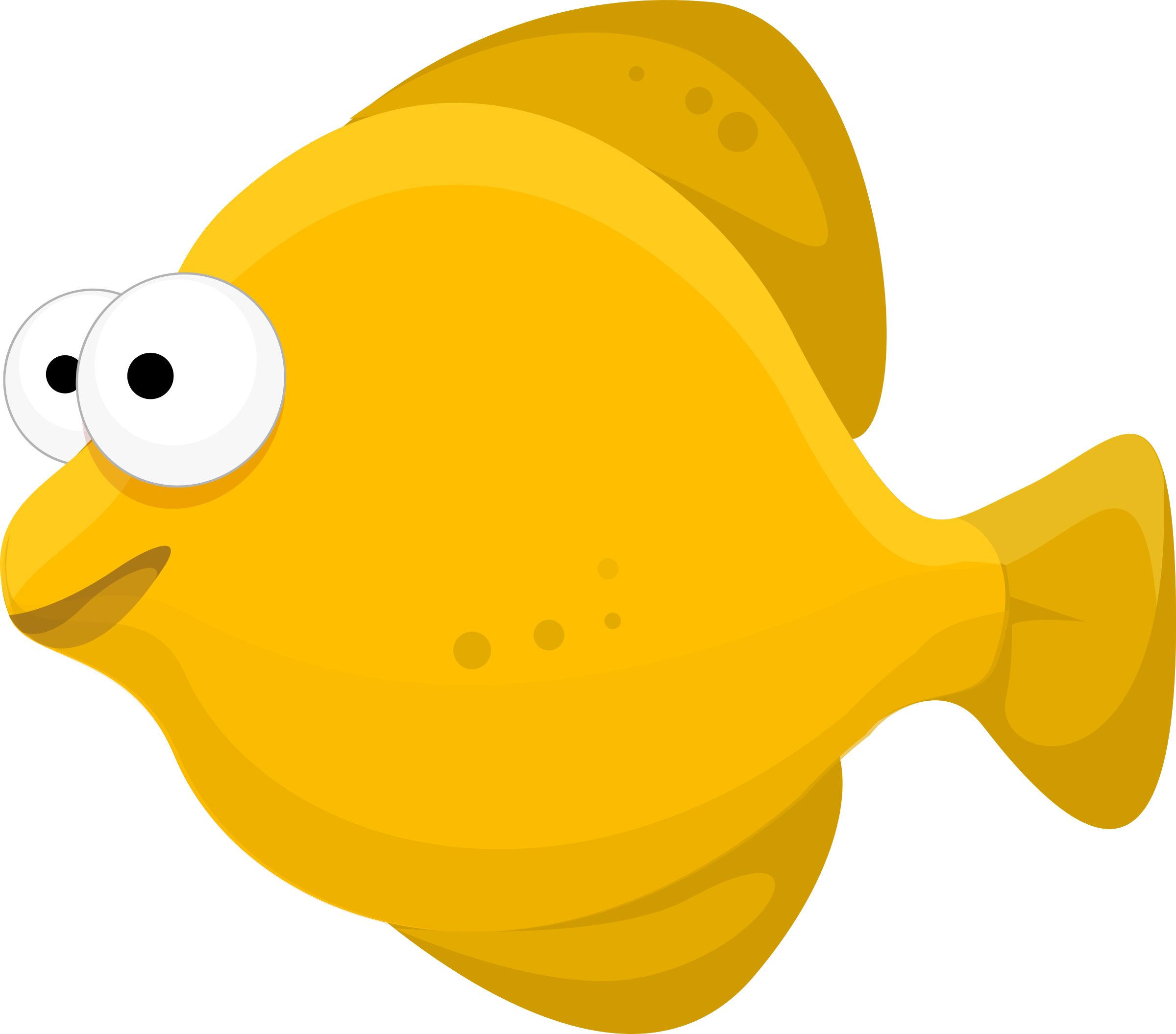 Fish clipart. Emerging pic of cartoon