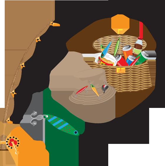 Fish in net clipart. Fishing clip art kids