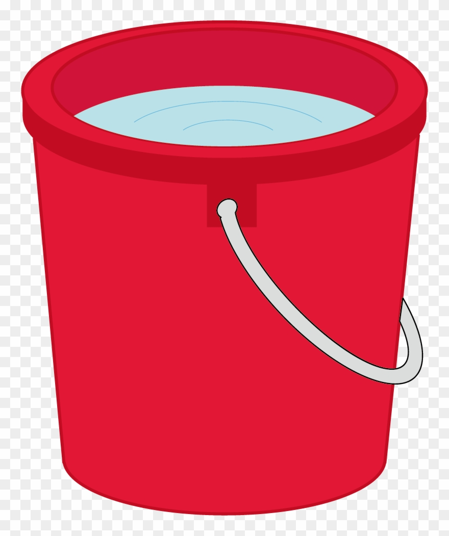 Bucket of water clipart png transparent stock Bucket Clipart Red Bucket - Water Bucket Vector Png Transparent Png ... png transparent stock