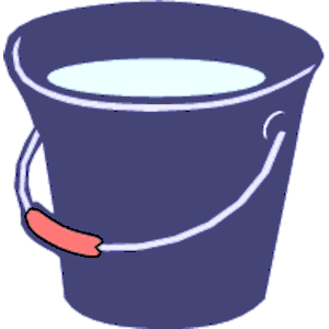 Bucket of water clipart svg library stock Water Bucket Cliparts - Cliparts Zone svg library stock