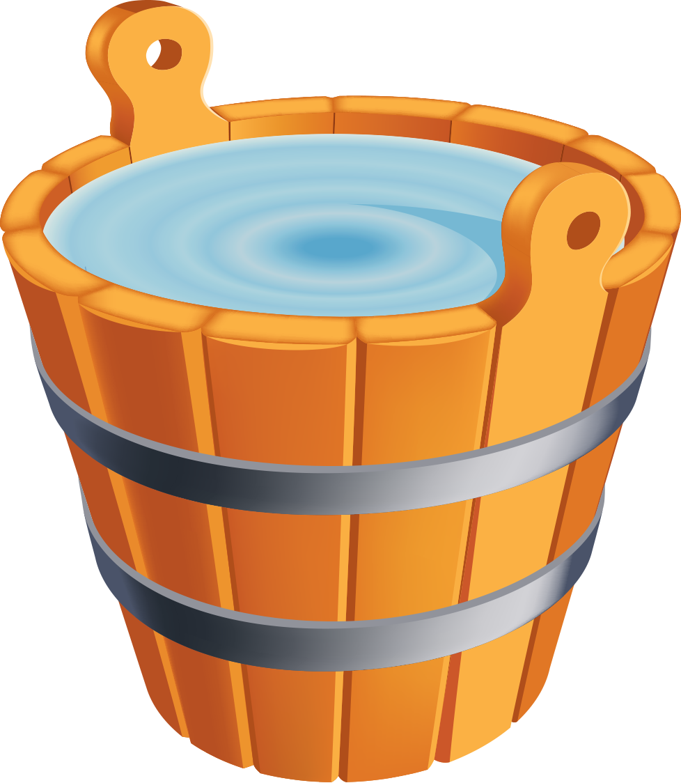 Bucket of water clipart image black and white stock Water Bucket Cliparts | Free download best Water Bucket Cliparts on ... image black and white stock