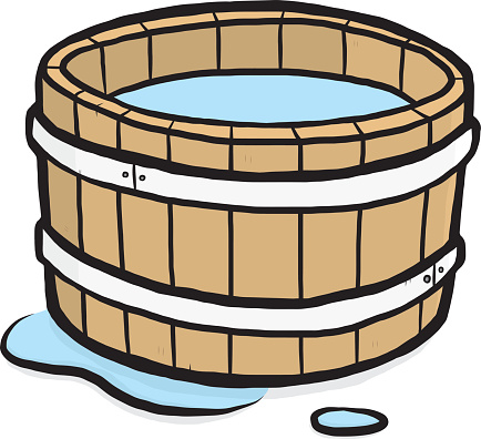 Wooden bucket pouring water clipart jpg freeuse Free Water Bucket Cliparts, Download Free Clip Art, Free Clip Art on ... jpg freeuse