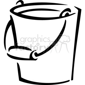 Bucket of water clipart black and white banner transparent download black and white bucket clipart. Royalty-free clipart # 384988 banner transparent download