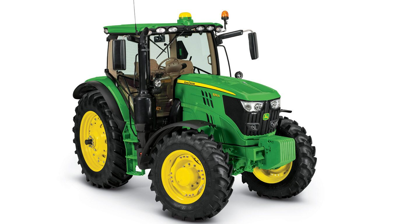 Bucket up on a john deere tractor clipart funny clipart free stock Row-Crop Tractors | 6155R | John Deere US clipart free stock