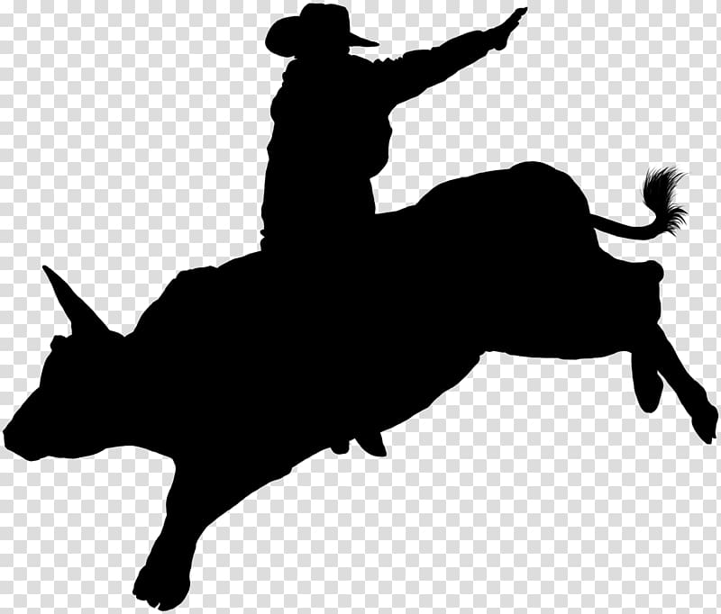 Bucking bull silhouette clipart picture freeuse download Cattle Bull riding Professional Bull Riders Rodeo Decal, bull ... picture freeuse download