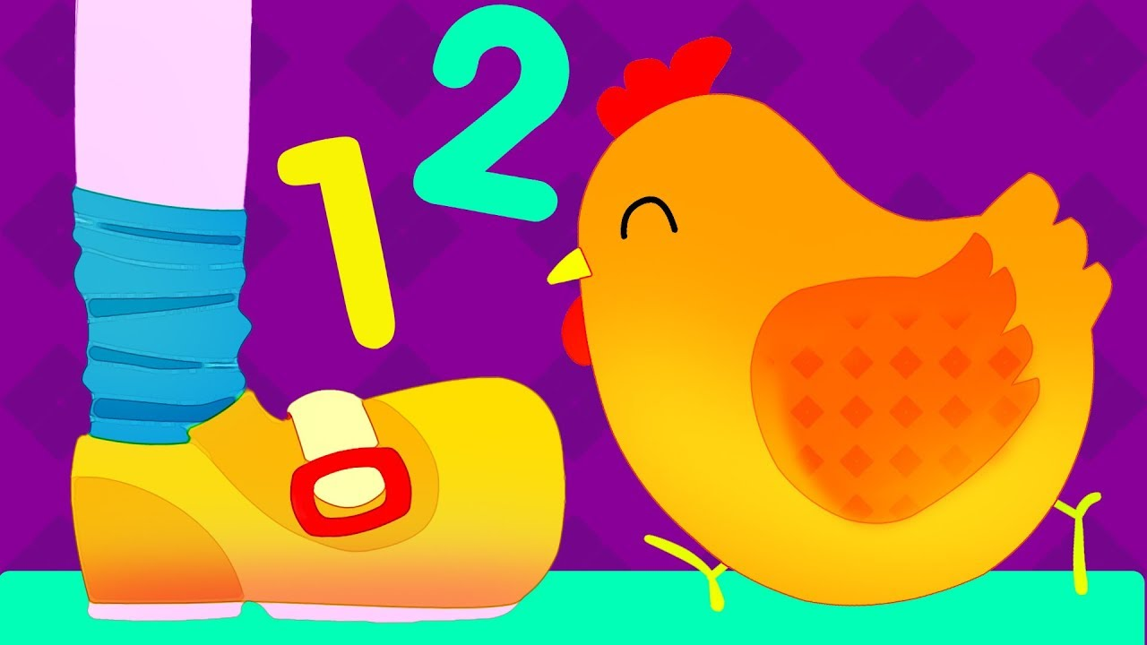 Buckle my shoe clipart transparent One Two Buckle My Shoe Song for Kids | Learn to Count 1 2 3... (with Lyrics) transparent