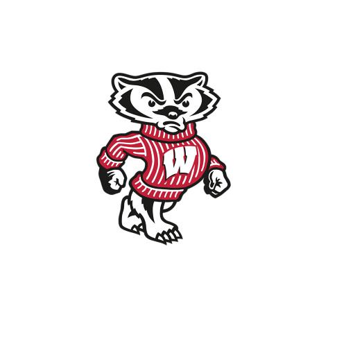 Wisconsin badgers clipart