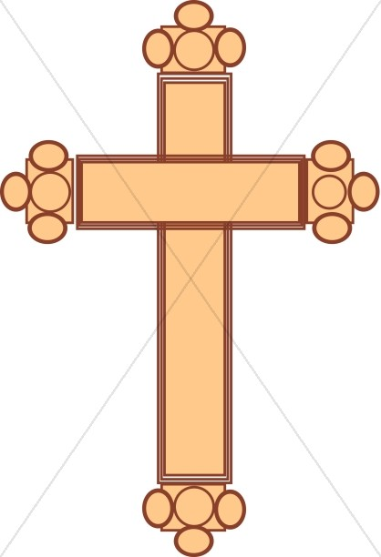 Budded cross clipart svg free download Budded Cross   Cross Clipart svg free download