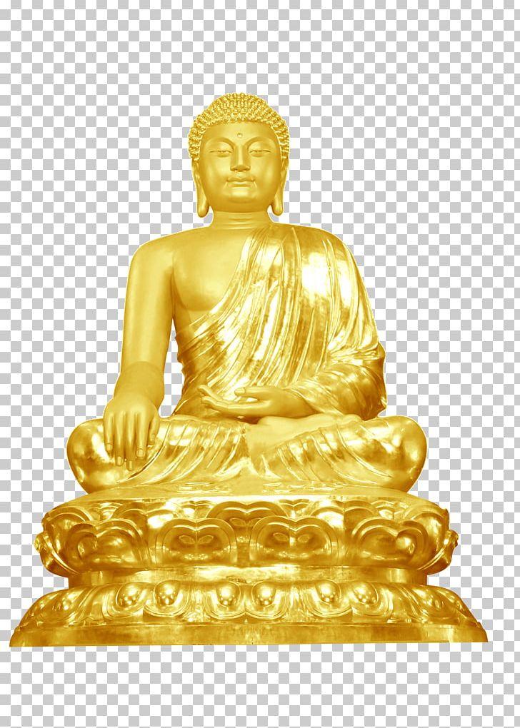 Buddha clipart gold transparent library Golden Buddha Buddhahood Buddharupa Buddhism PNG, Clipart, Art ... transparent library