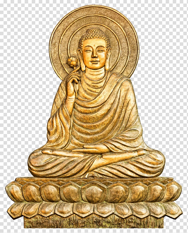 Buddha clipart gold clip freeuse download Gautama Buddha Golden Buddha Buddhism , Buddhism transparent ... clip freeuse download