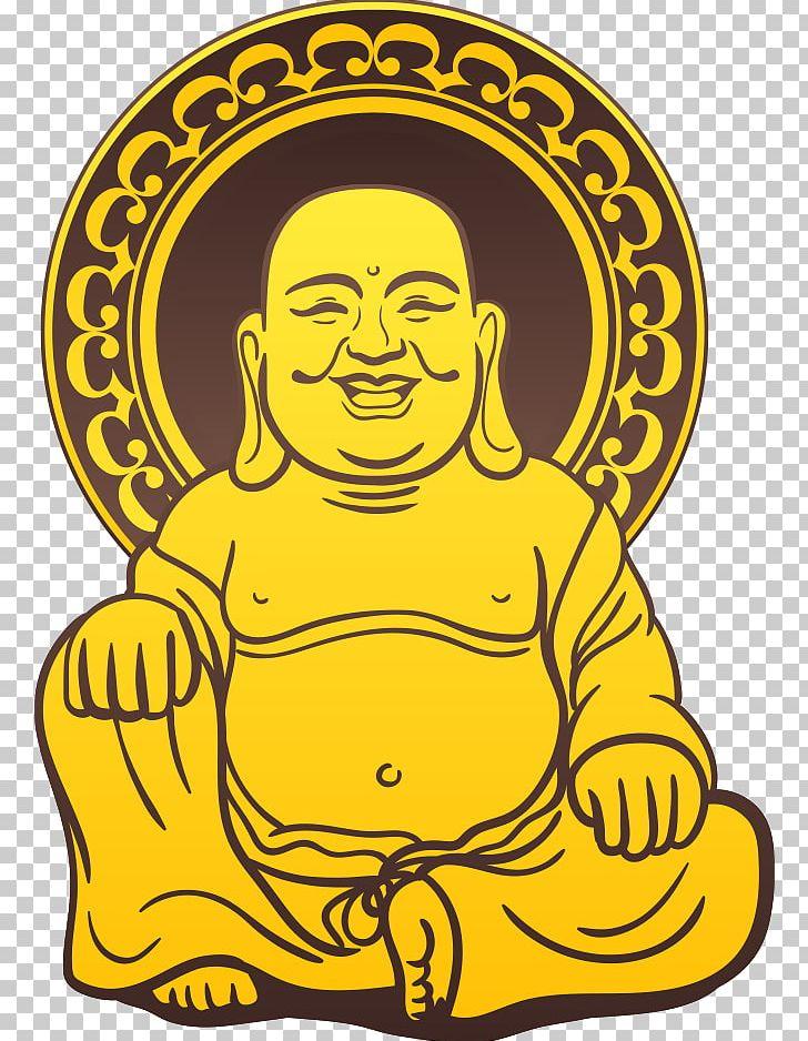 Buddha clipart gold jpg library Golden Buddha Gautama Buddha Illustration PNG, Clipart, Area, Buddha ... jpg library