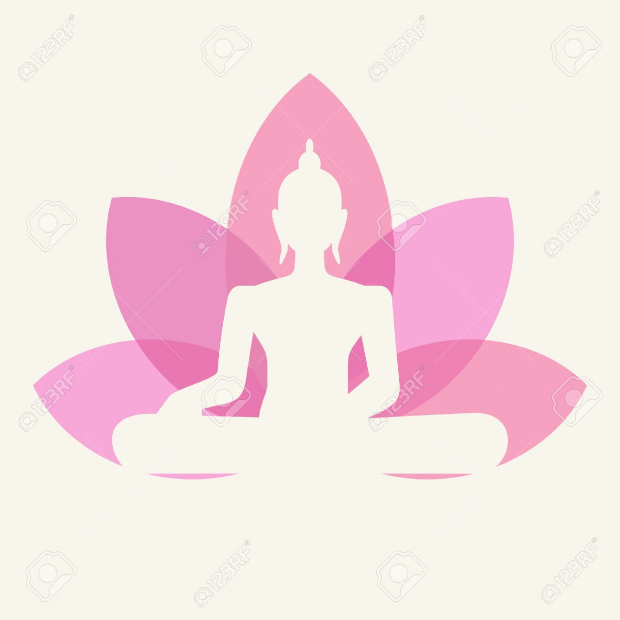 Buddha clipart lotuscolor graphic transparent library Buddha clipart lotus – Pencil and in color buddha clipart .. graphic transparent library