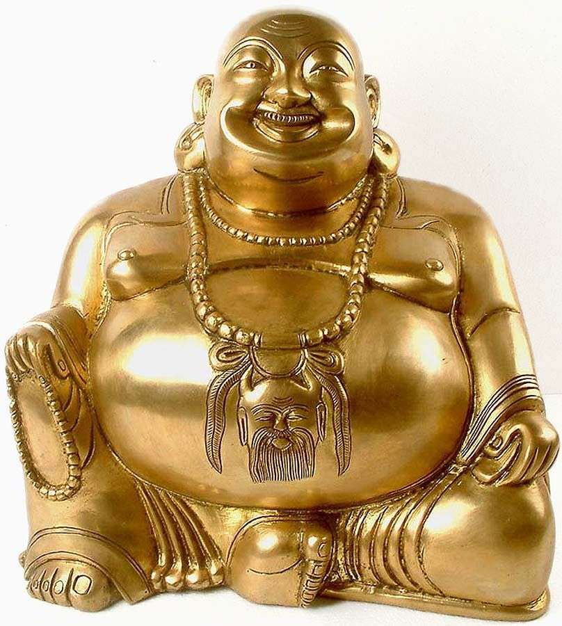 Buddha laughing statue clipart clipart royalty free download Buddha when placed in your home symbolises eating up all your ... clipart royalty free download