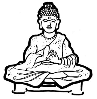 Buddhism clipart