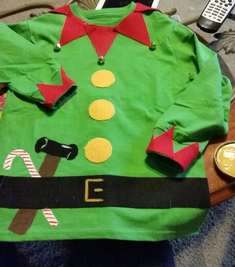 Buddy elf shirt ideas clipart clip art royalty free stock Diy elf shirt... So easy and so cute | diy projects | Christmas elf ... clip art royalty free stock