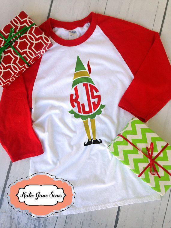 Buddy elf shirt ideas clipart banner transparent Buddy the Elf shirt Elf Monogram Christmas shirt Holiday | Cricut ... banner transparent