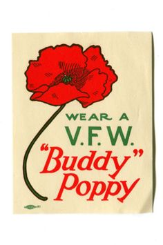 Buddy poppy drive clipart image royalty free library 25 Best Buddy Poppy images in 2018 | Poppies, Poppy craft, Veterans day image royalty free library