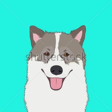 Buddy the dog clipart. Bangkaew stock vector me