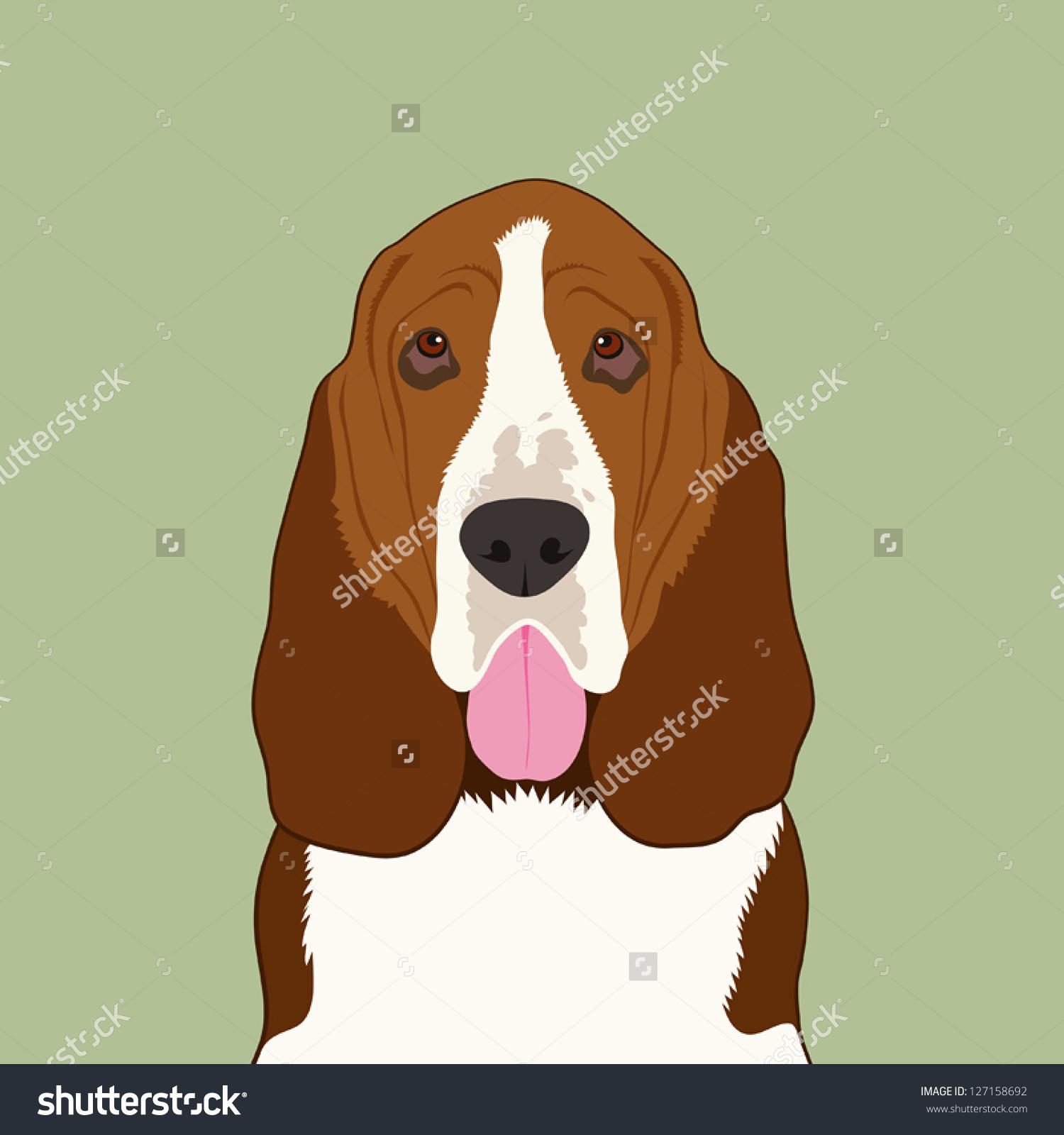 Buddy the dog clipart. Clipartfest basset hound