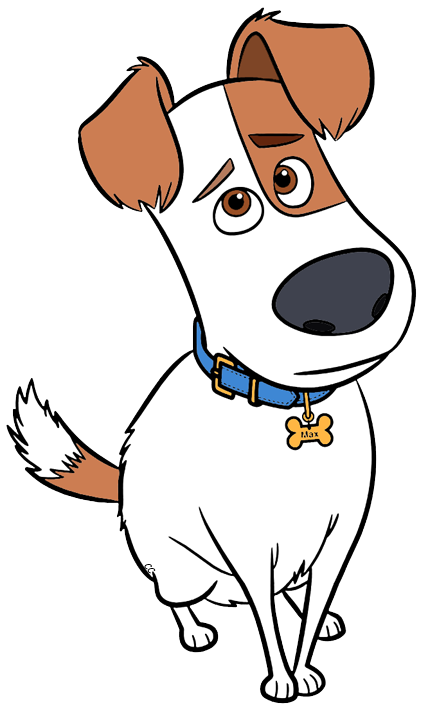 Buddy the dog clipart vector royalty free download The Secret Life of Pets Clip Art Images - Cartoon Clip Art vector royalty free download